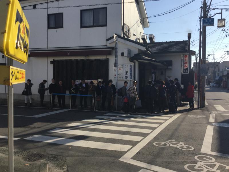 熊本  午後2時30分  黒亭の行列