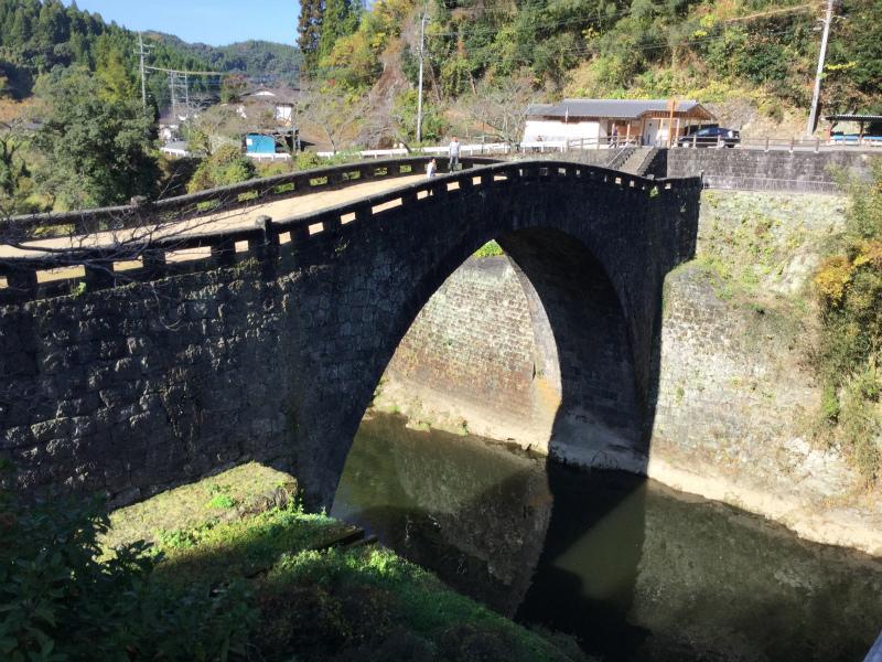 霊台橋   石のアーチ橋 (熊本県美里町)