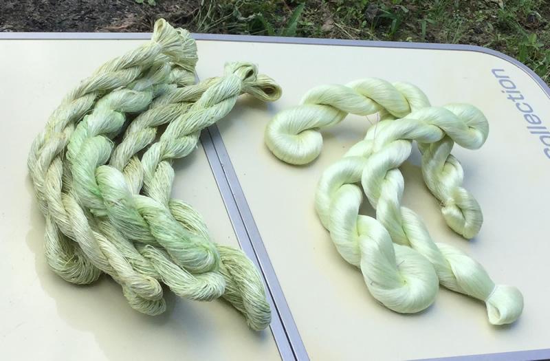 宮坂製糸所に依頼した生糸